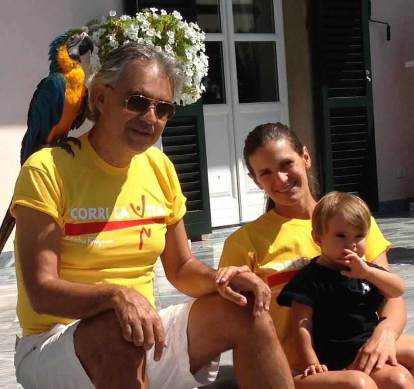 Andrea Bocelli, Veronica e Virgina