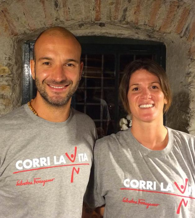 Elena Gigli e Stefano Tempesti - Corri la Vita 2014