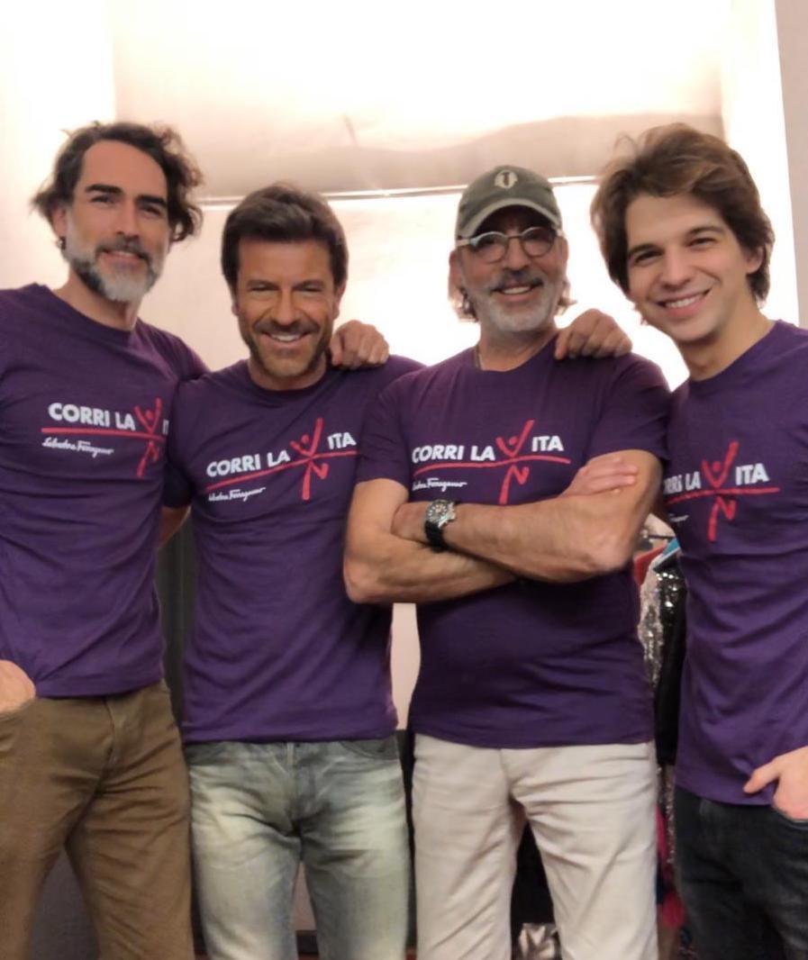 Paolo Conticini-Sergio Muniz-Luca Ward-Jacopo Sarno