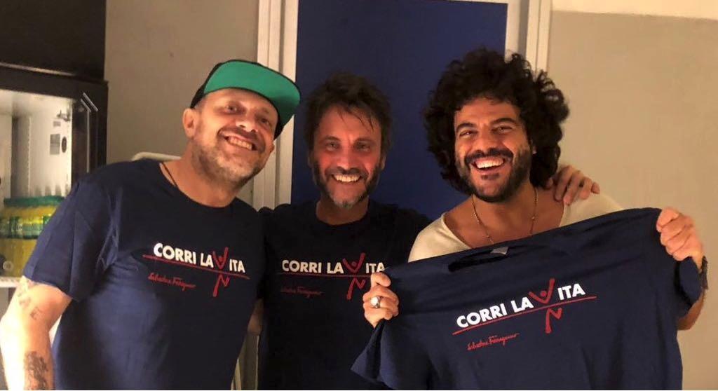 Max Pezzali Nek Francesco Renga CORRI LA VITA