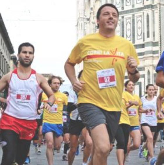 Matteo Renzi - Corri la Vita 2013