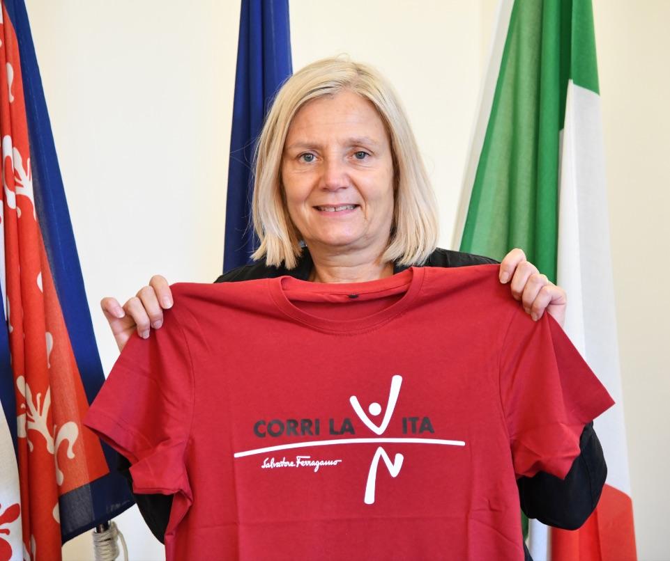 alessandra petrucci-rettrice universita firenze-corri la vita 2021