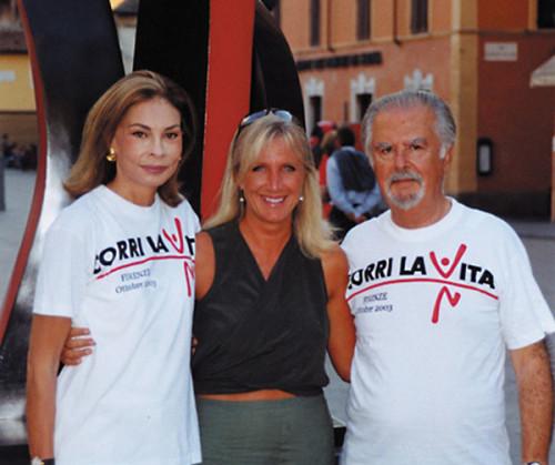 Fernando Botero e Sophia Vari