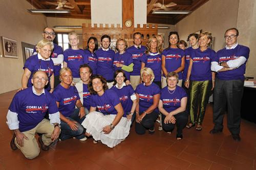 Comitato Organizzatore Corri la vita 2010
