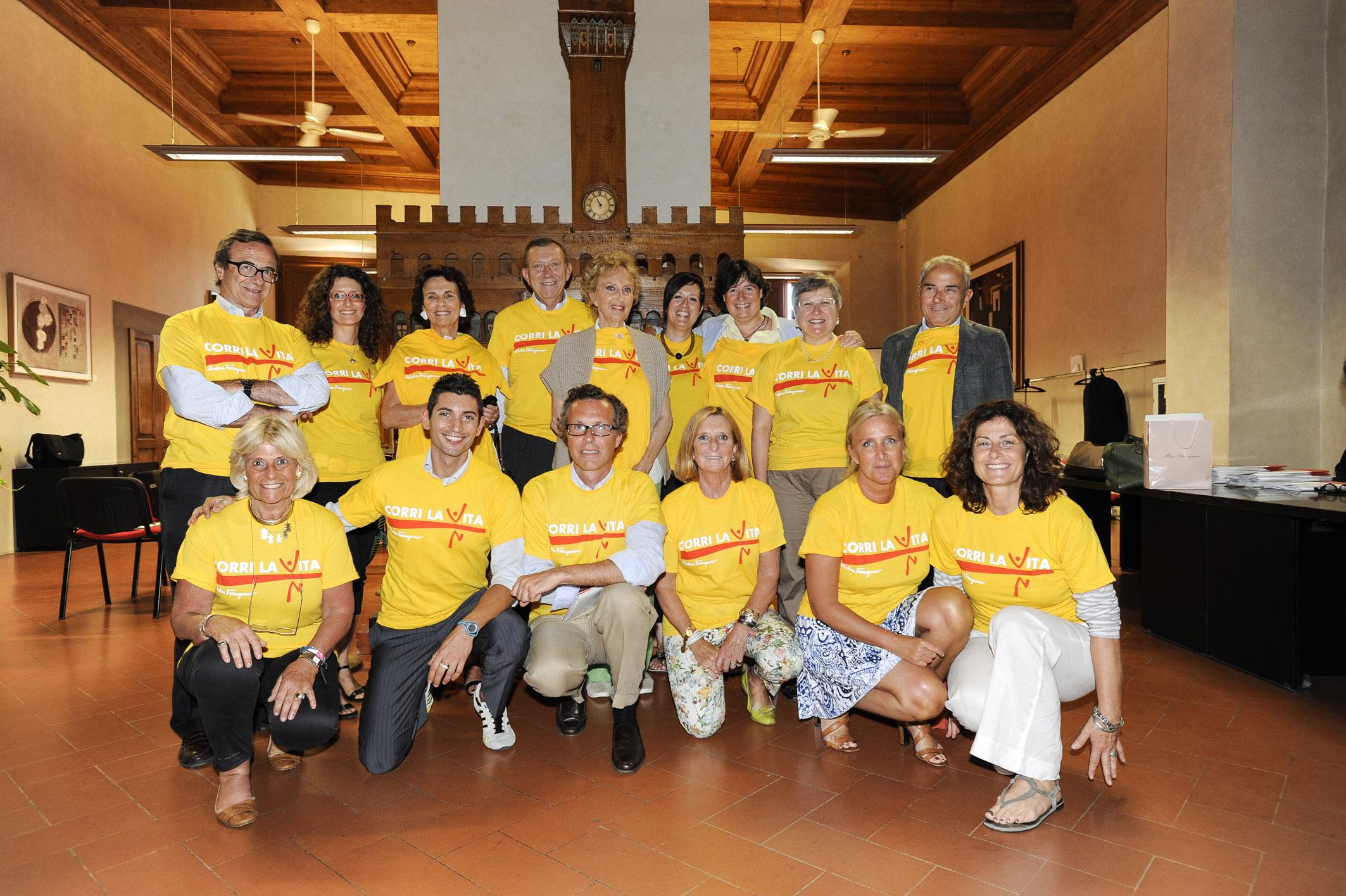 Comitato Organizzatore Corri la vita 2013