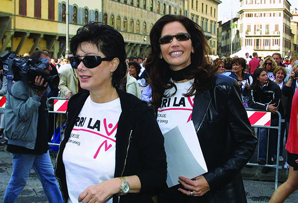 Edwige Fenech e Melba Ruffo