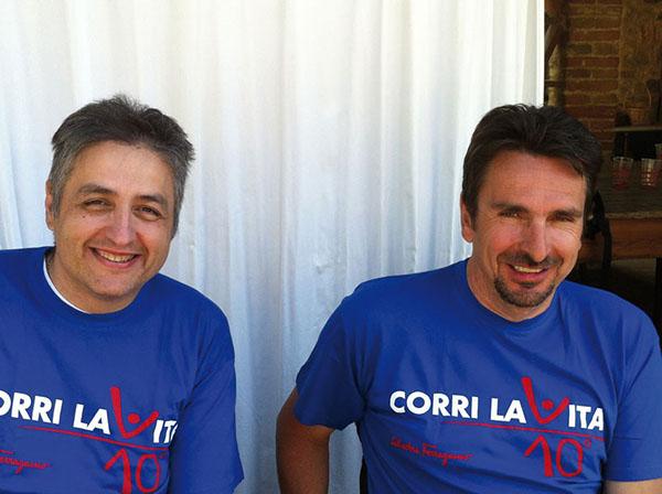 Marco Innocenti e Giuseppe Polidori