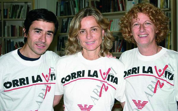 Luigi Lo Cascio, Cristina Comencini e Angela Finocchiaro