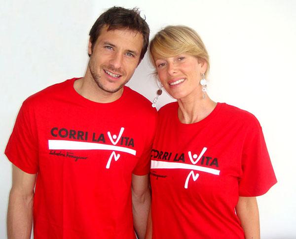 Alessia Marcuzzi e Carlo Cudicini