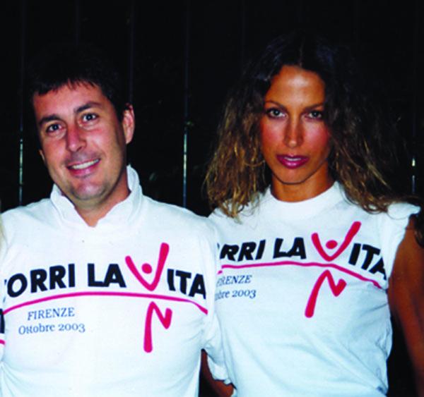 Andrea Merloni e Ralitza Baleva