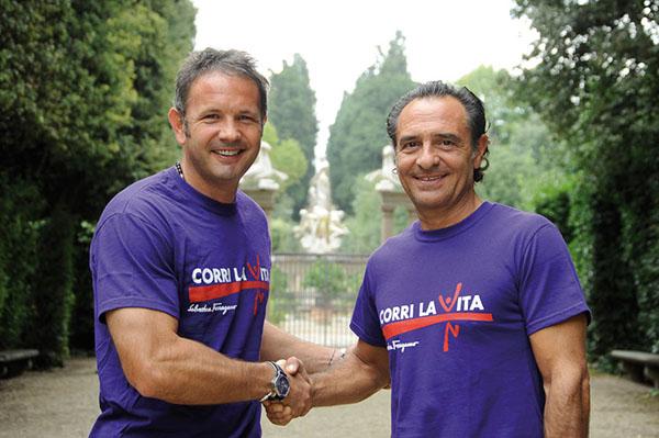 Sinisa Mihajlovic e Cesare Prandelli 2010