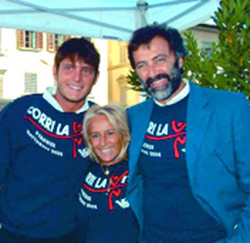 Aldo Montano, Cinzia Th. Torrini e Luca Barbareschi