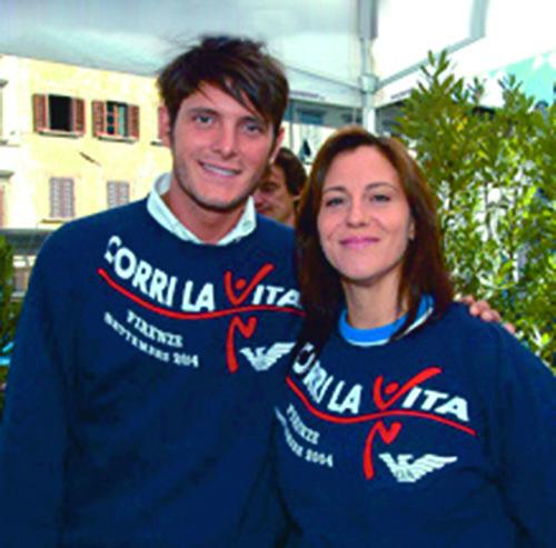 Aldo Montano e Martina Miceli