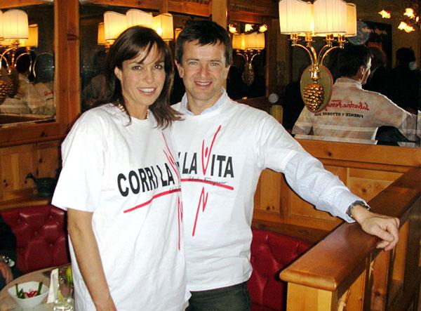 Cristina Parodi e Giorgio Gori - Corri la Vita