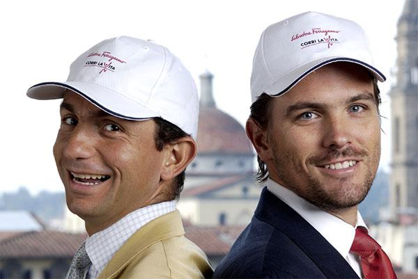Diego Di San Giuliano e James Ferragamo
