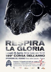 Poster Corsa dell'Arno 2016