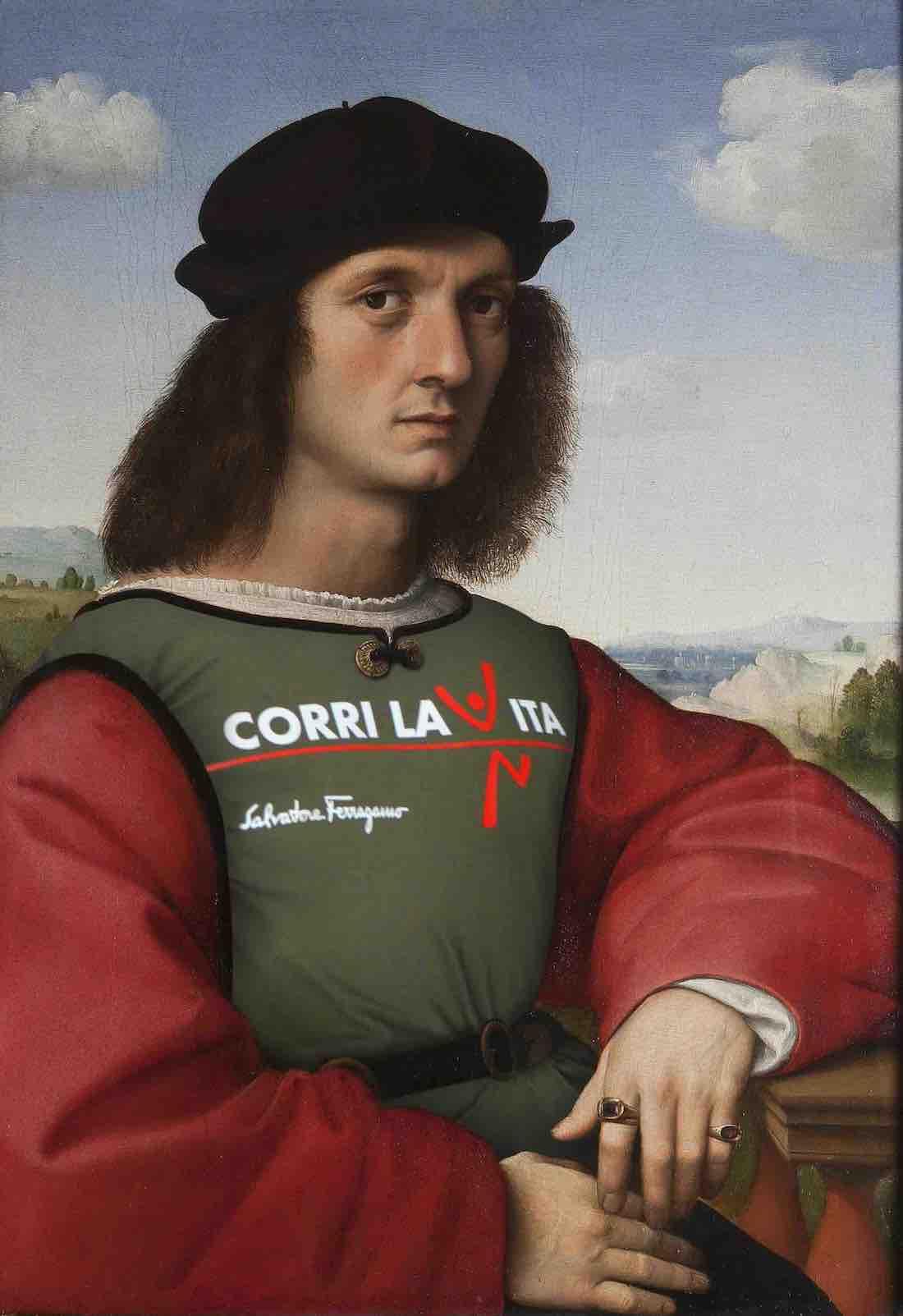 2020 Raffaello Sanzio, Ritratto di Agnolo Doni