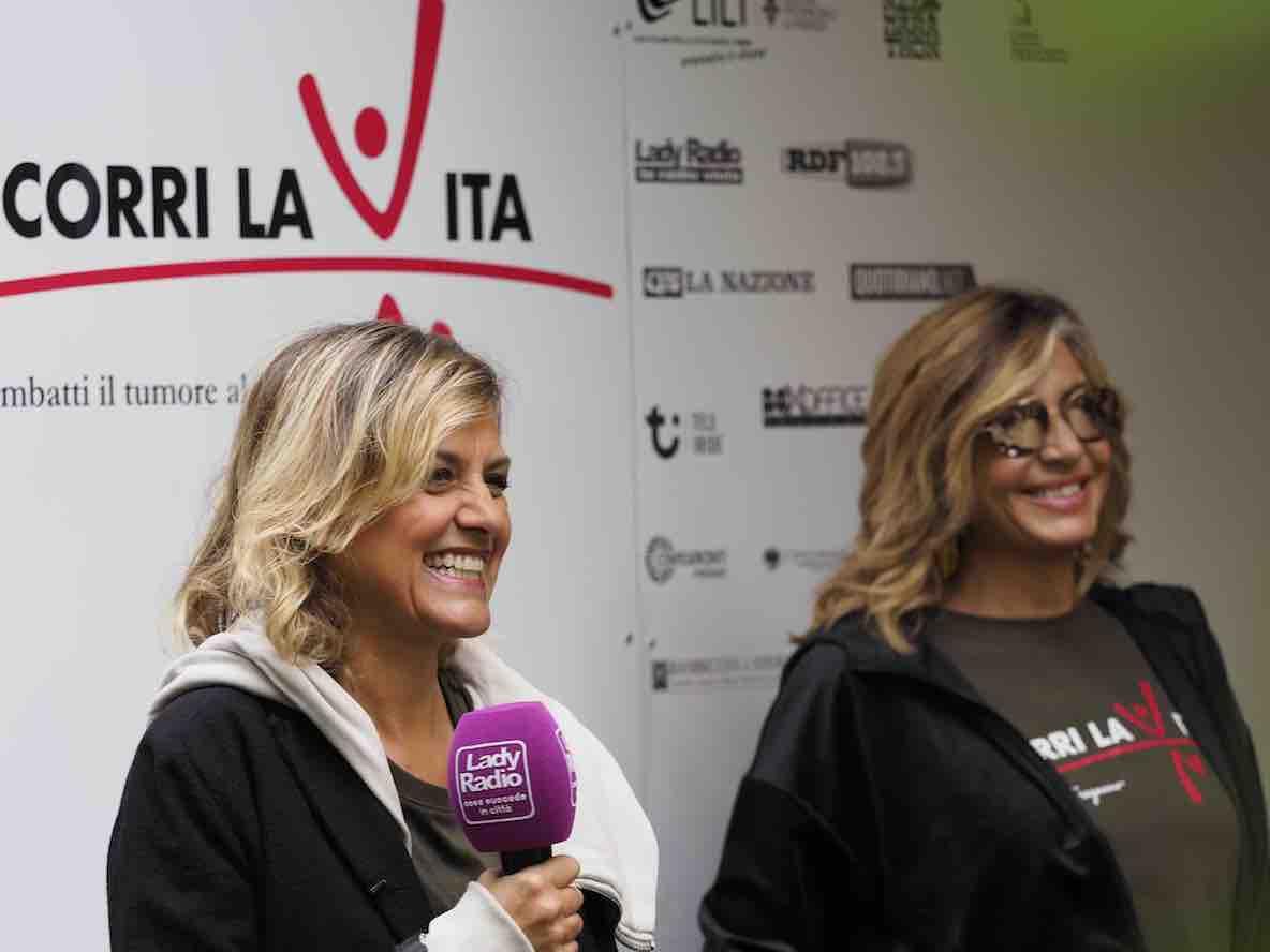 Irene Grandi, Myrta Merlino_corri la vita 2020